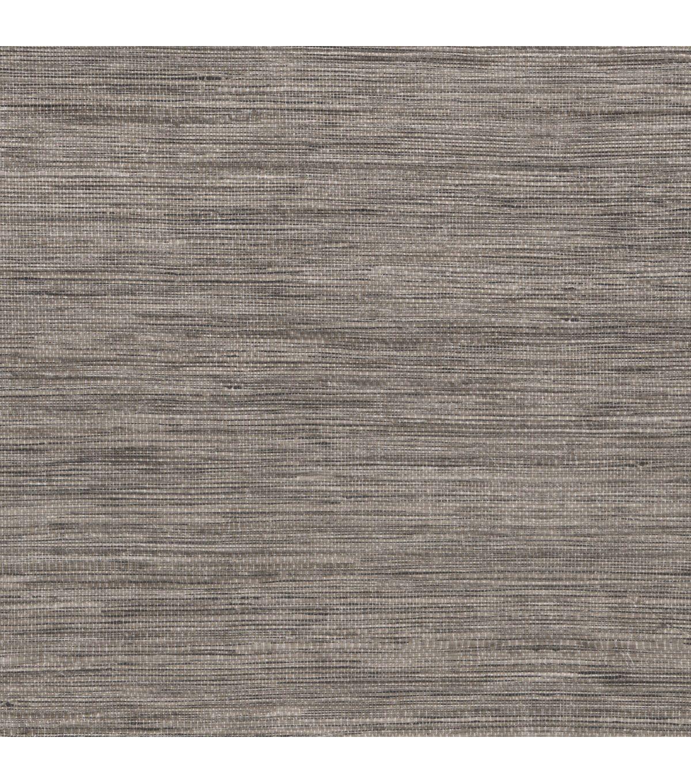 Tapis Grey Faux Grasscloth Wallpaper JoAnn Grasscloth