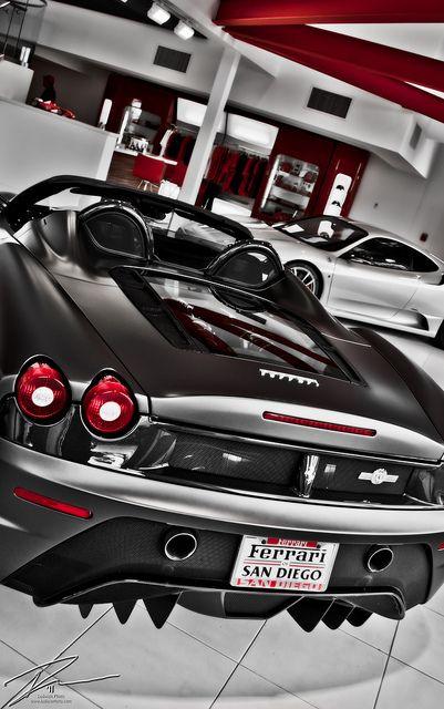2009 Ferrari 430 Scuderia Spider 16m Super Fast Cars Ferrari