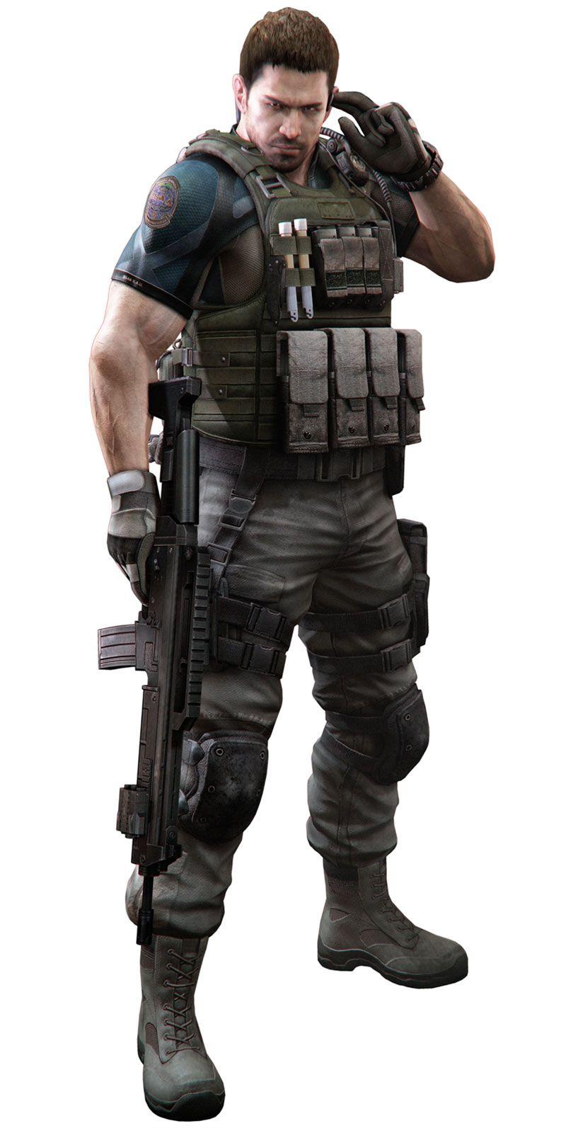 Chris Characters Art Resident Evil 6 Resident Evil