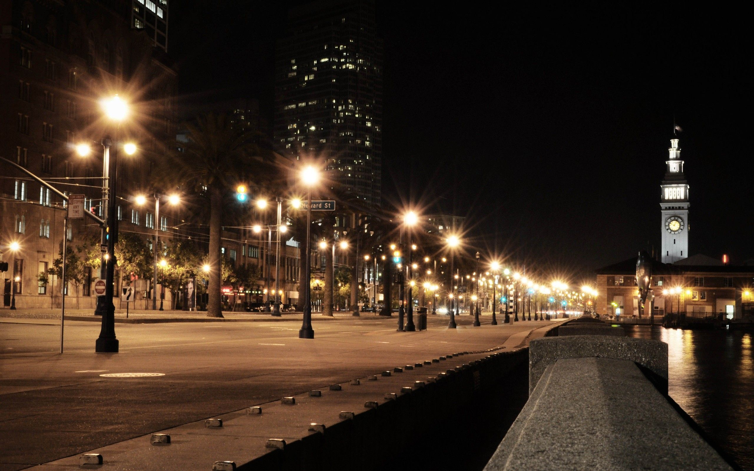 Street Lights at Night | Buildings, Street, Night, Lights wallpapers ... for Street Lights At Night Hd  113cpg