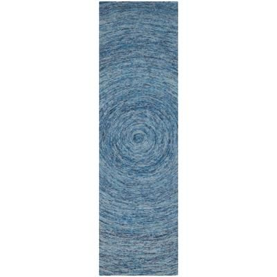 Safavieh Ikat Dark Blue Multi 2 Ft X 12 Ft Runner Rug Blue Area Rugs Rugs Rug Runner