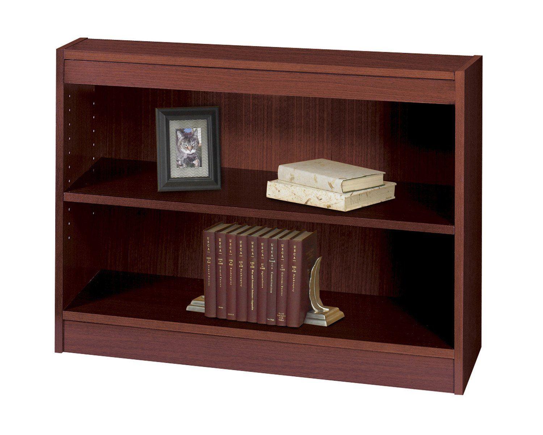 safco 2 shelf square edge veneer bookcase recyclable content rh pinterest com