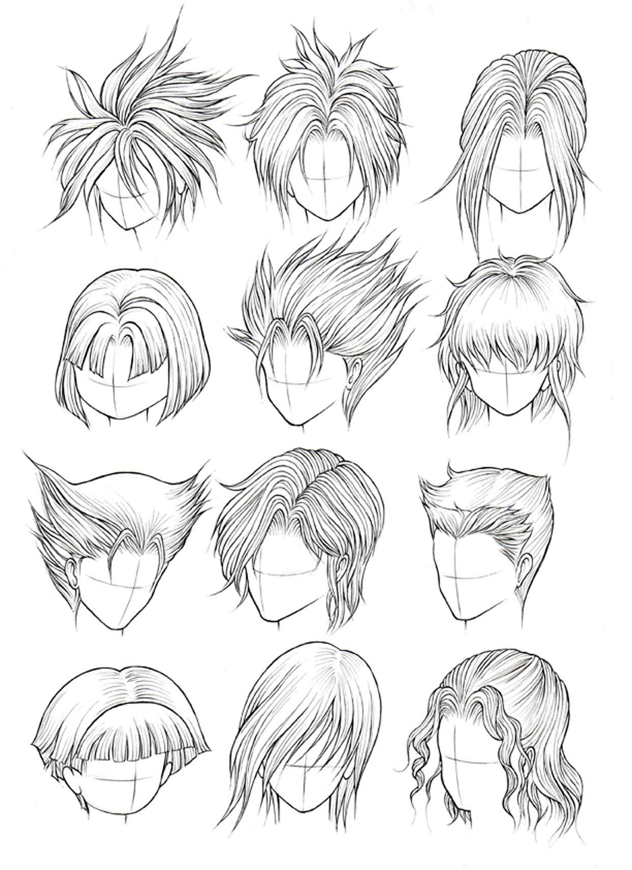Kanji de manga vol 3 cover image manga hair anime