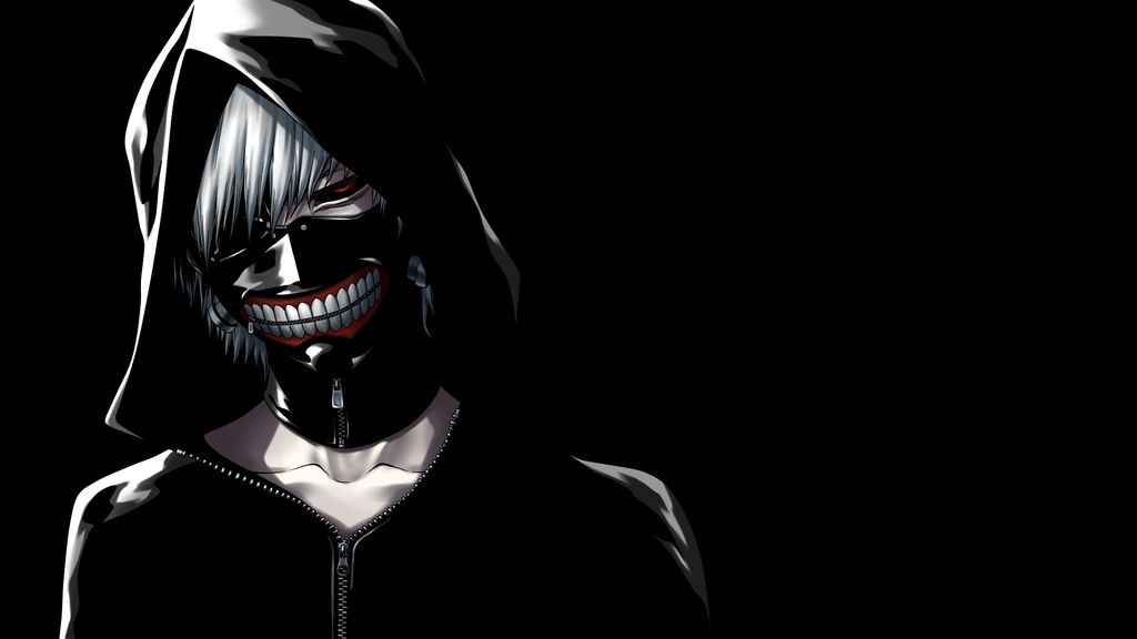 Desktop Wallpaper Ken Kaneki Tokyo Ghoul Anime Dark Hd Image Picture Background Quyd44