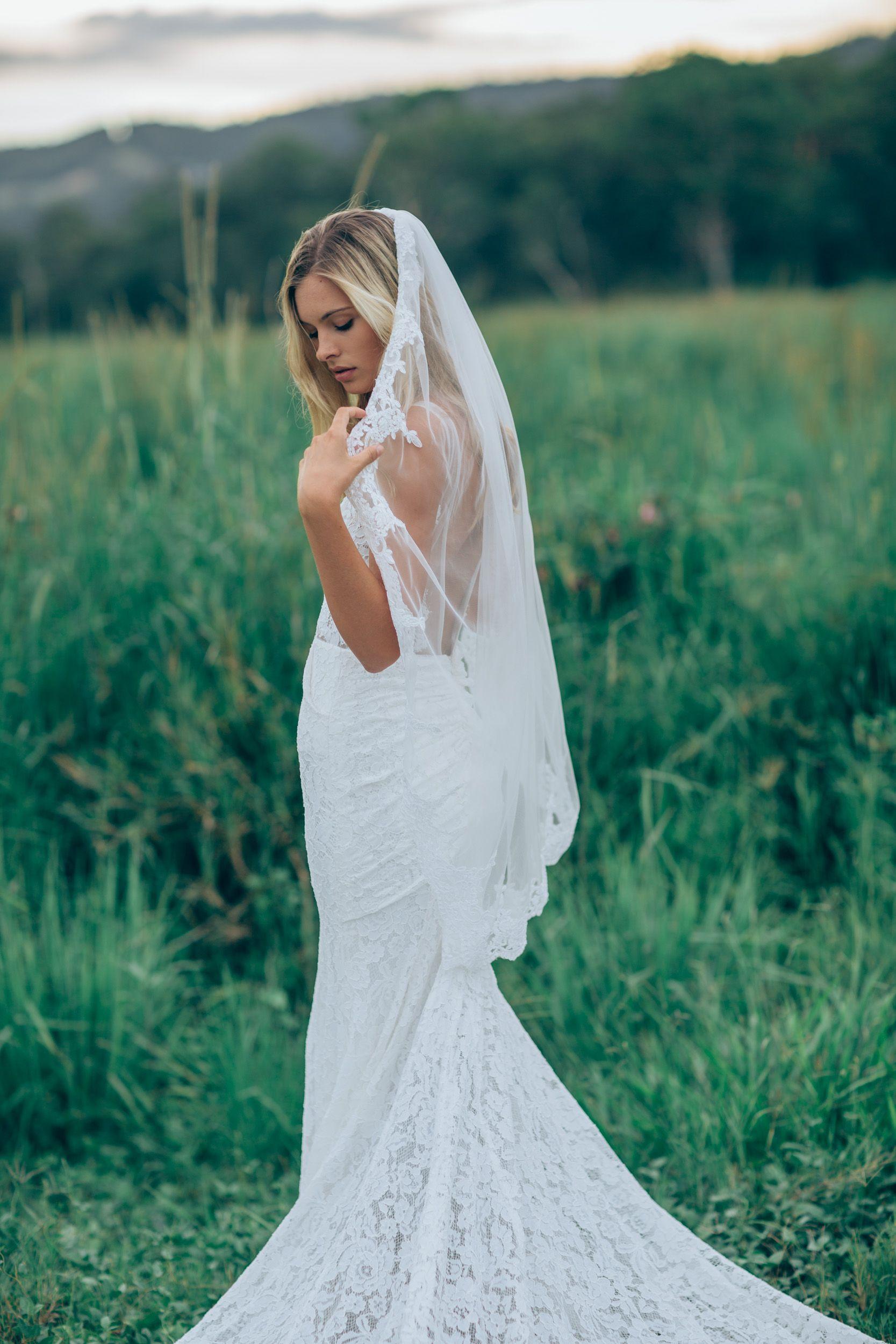 Low back wedding dress #Frankie http://www.madewithlovebridal.com ...
