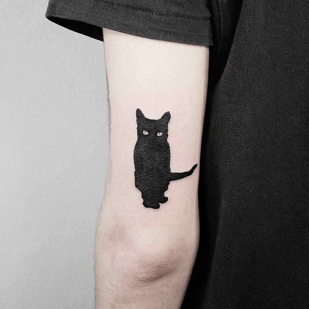 Account Suspended Minimalist Tattoo Silhouette Tattoos Black Cat Tattoos