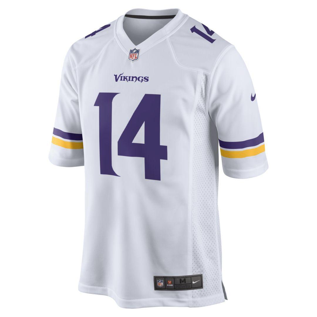 big sale 9ee7a 56f31 NFL Minnesota Vikings (Stefon Diggs) Men's Game Football ...