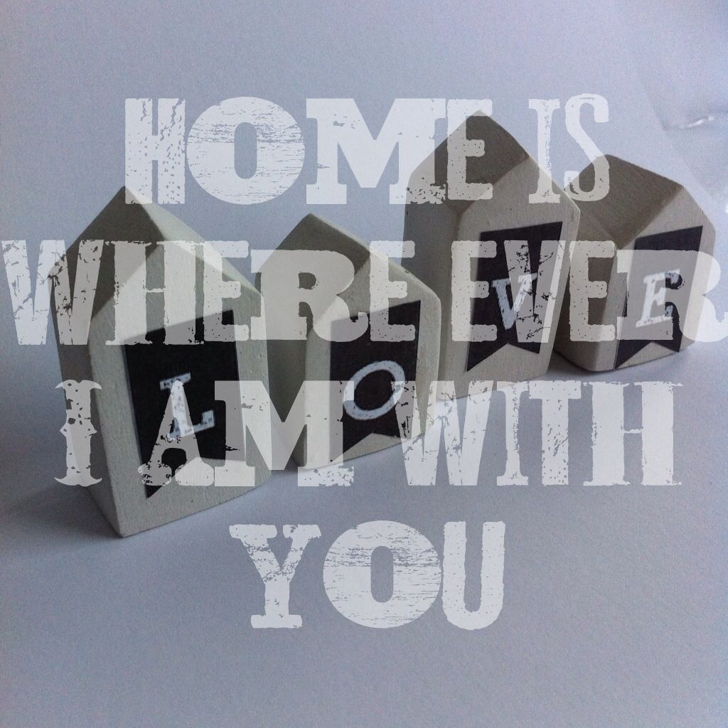 #home is ...