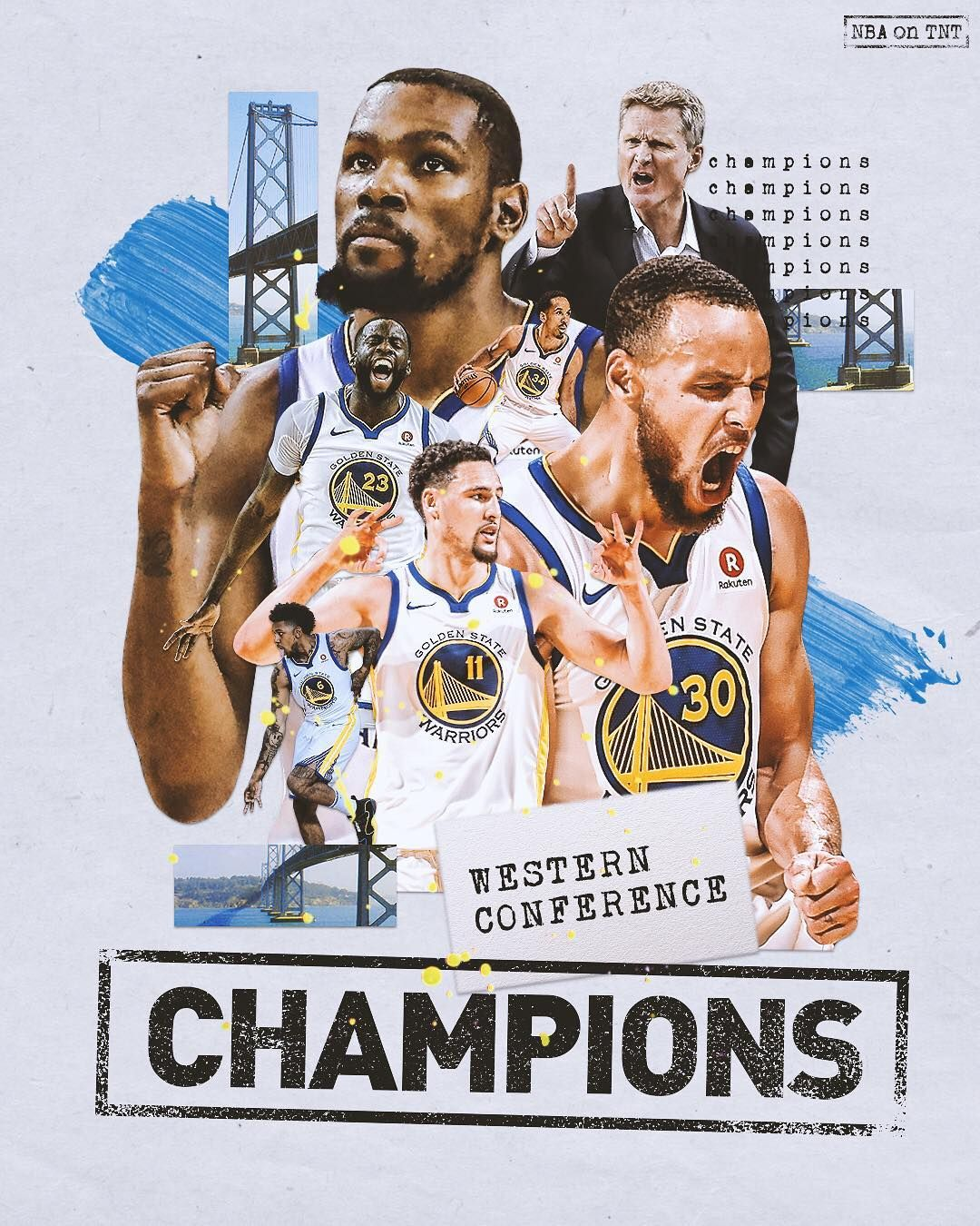 The Best In The West Warriors Are Headed To The Nbafinals For The Fourth Straight Year Golden State Warriors Basketball Nba Sports Graphics