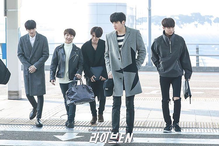 Instagram photo 2017-03-17 02:06:16 [170317] [PRESS PIC] Incheon Airport 🛫 Japan (for Japan Activities from March 17-29, 2017) | ©Entertainment News _ #Wooseok #JungWooseok #ウソク #정우석#우석 #펜타곤#ペンタゴン #Pentagon #cubeent #yuto #yeoone #jinho #yanan