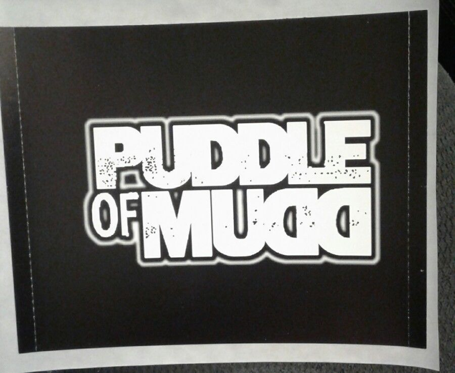 Puddle of mud band decal sticker come clean cd music album art ebay