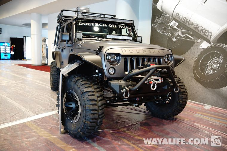 2013 Sema Project Doomsday Jeep Jk Wrangler 4door