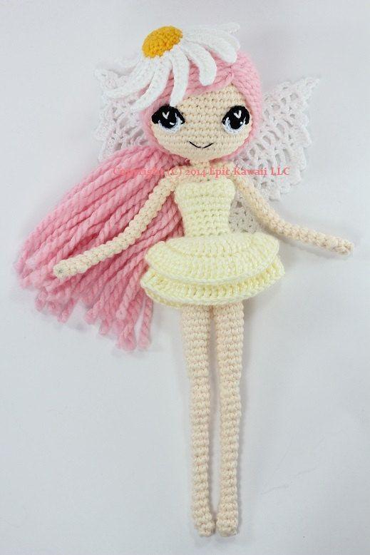 Muster: Althaena Sommer-Märchen-Crochet Amigurumi von epickawaii