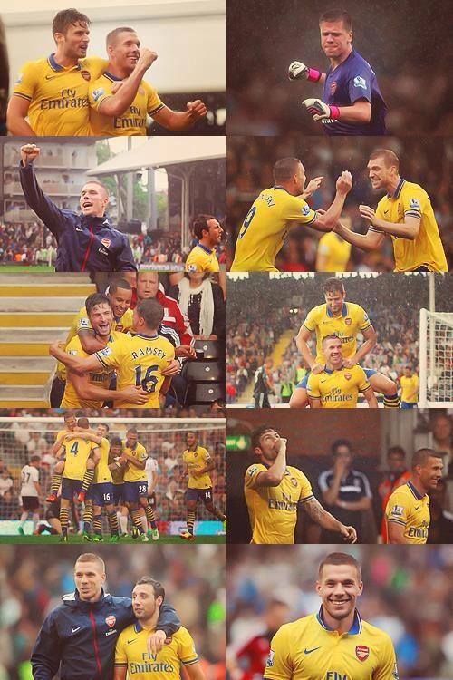 Arsenal vs Fulham Montage.