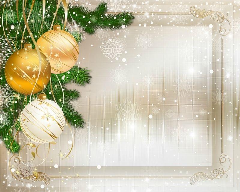 С новым годом заготовка для открытки
