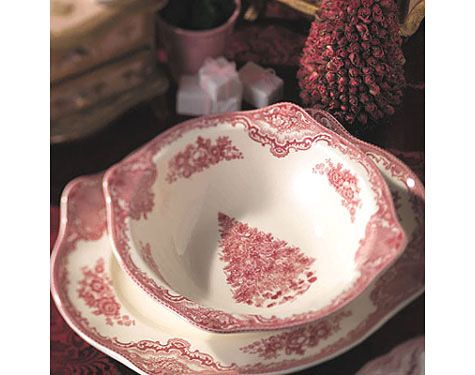 Old Britain Castles Pink Christmas! So excited for the Christmas dishes too!