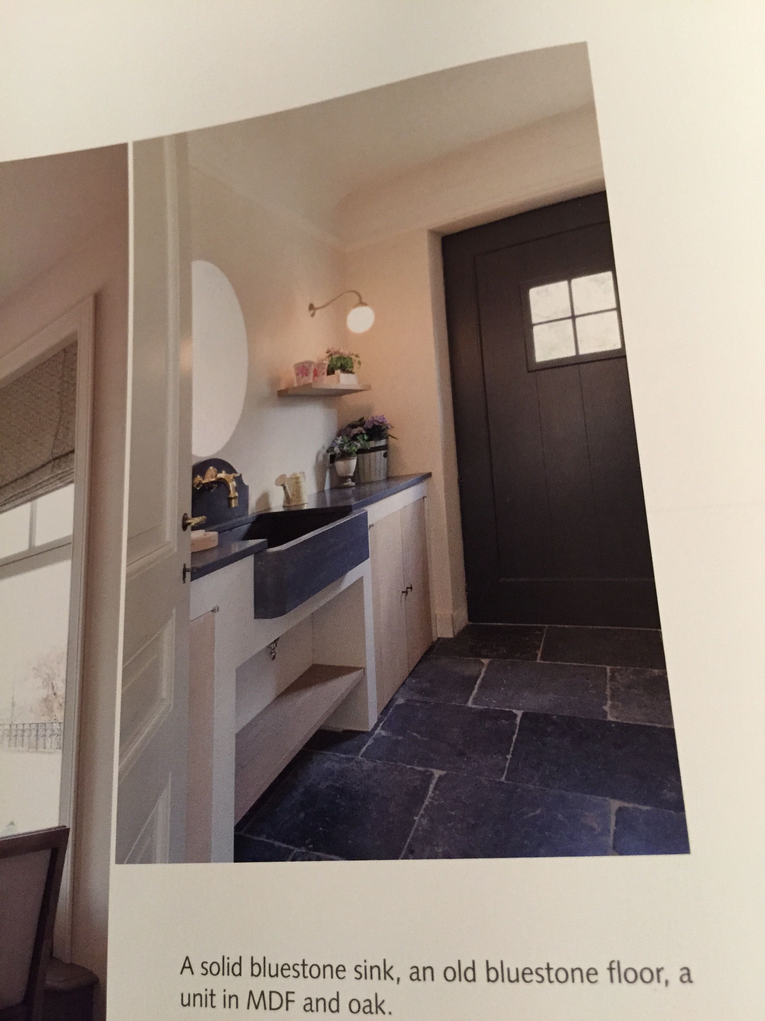 Steinböden Belgischer Blaustein - Option für Küchenboden? | Küche ...