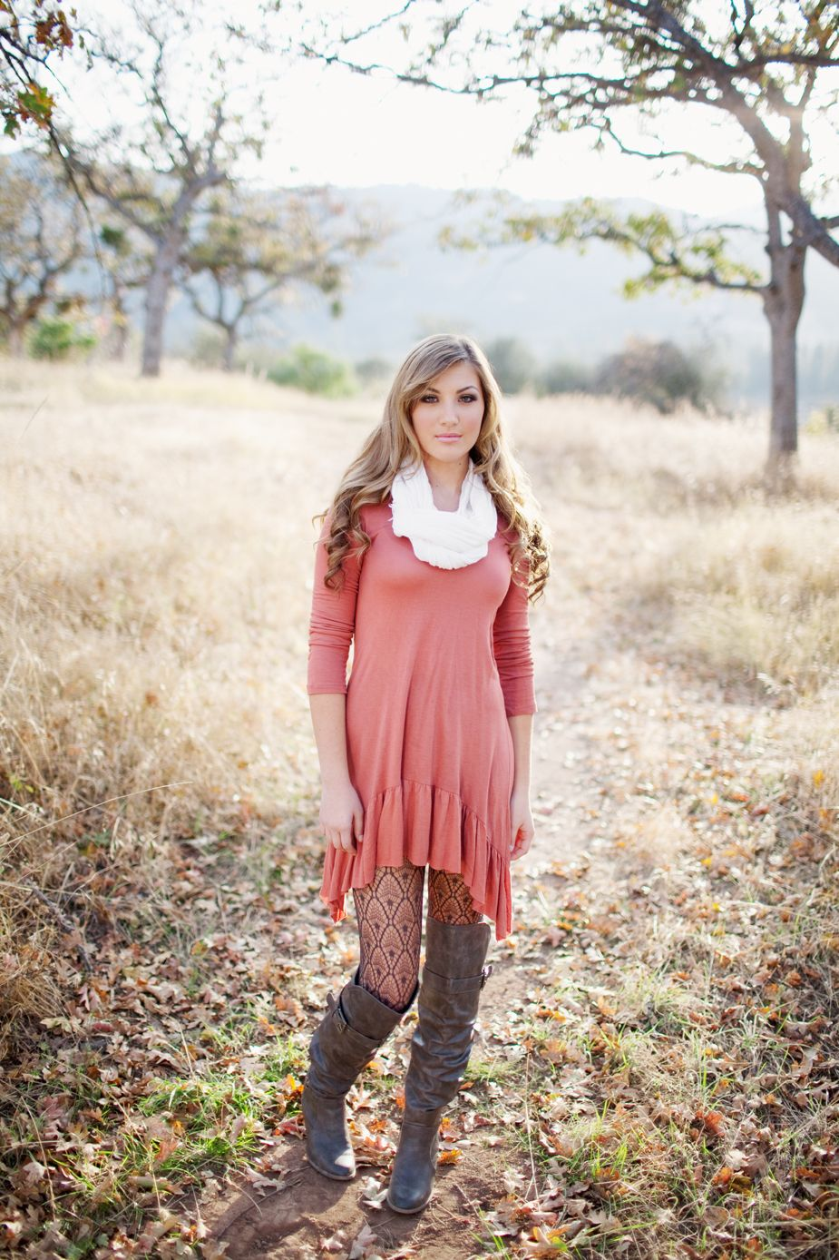 Boots and dress senior style pinterest fashion style and dresses