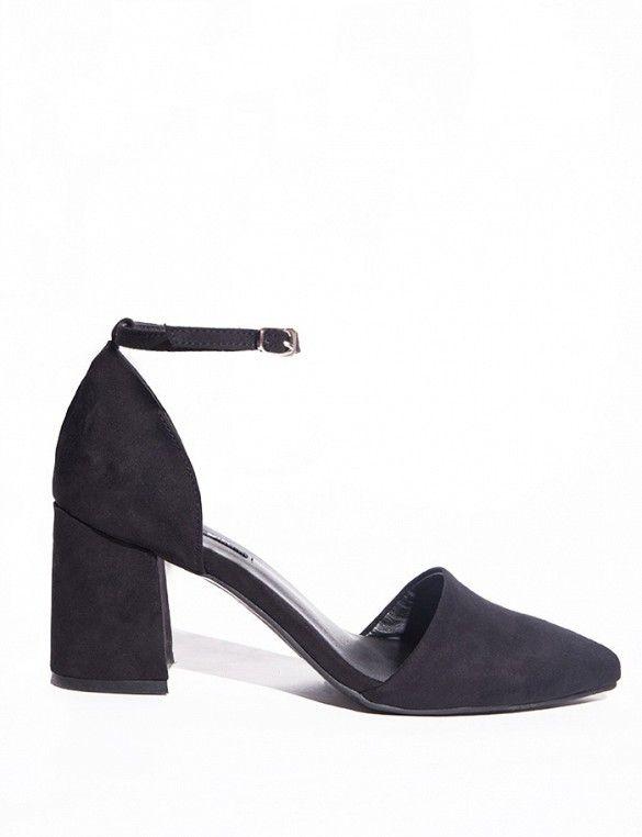 Pixie Market Ankle Strap Medium Heel Shoes