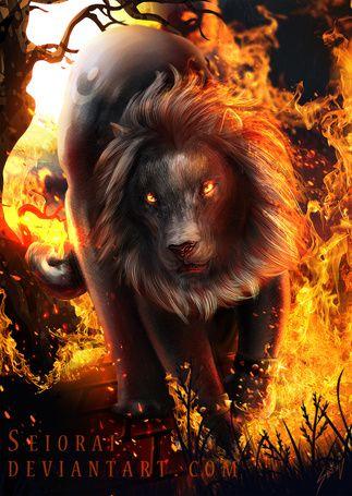 амулет для лошадь лев