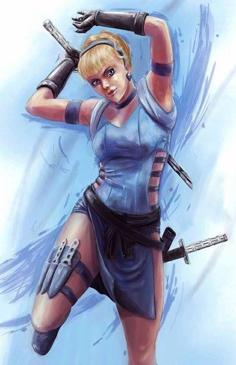 Warrior Cinderella