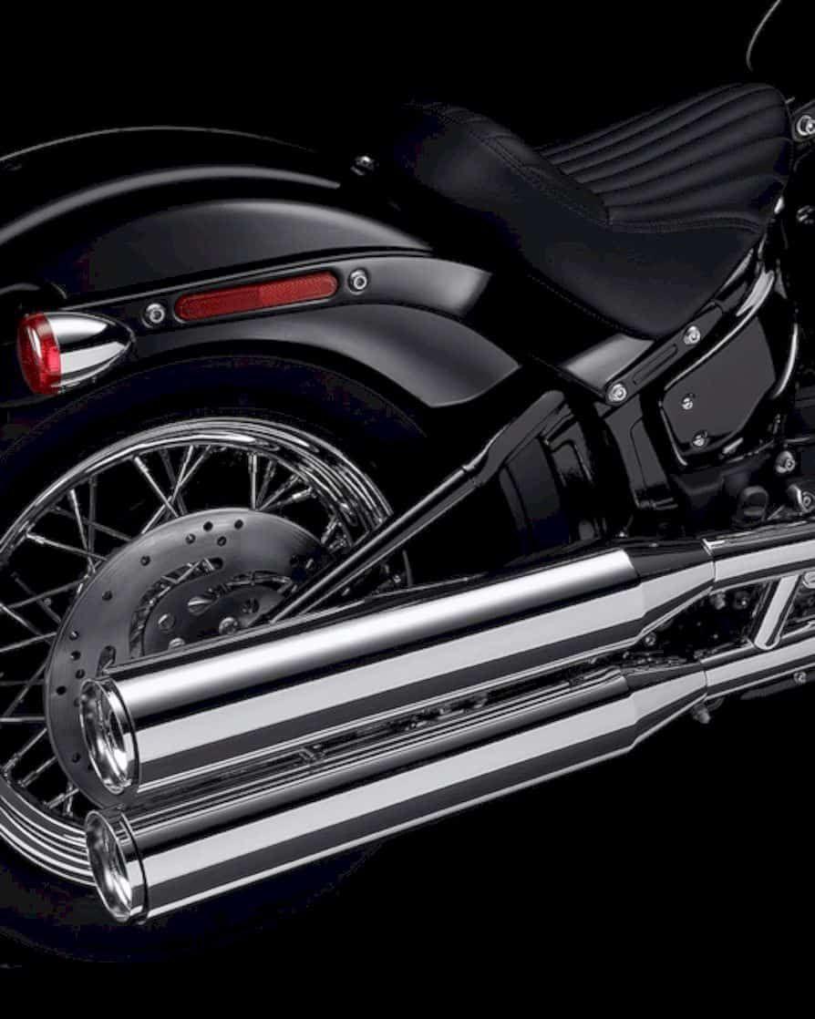 2020 Harley Davidson Softail Standard A Blank Canvas For Customization In 2020 Softail Harley Davidson Cool Motorcycles