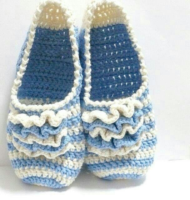 Croche | croche | Pinterest | Hausschuhe, Schuhe und Häkeln