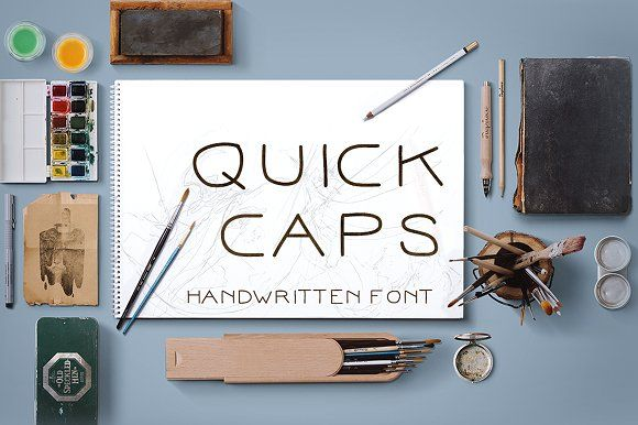Quick Caps by Et Alia Creations on @creativemarket