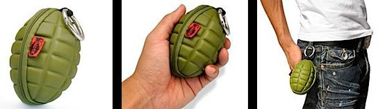 Coin purse looks like a grenade - Boing Boing