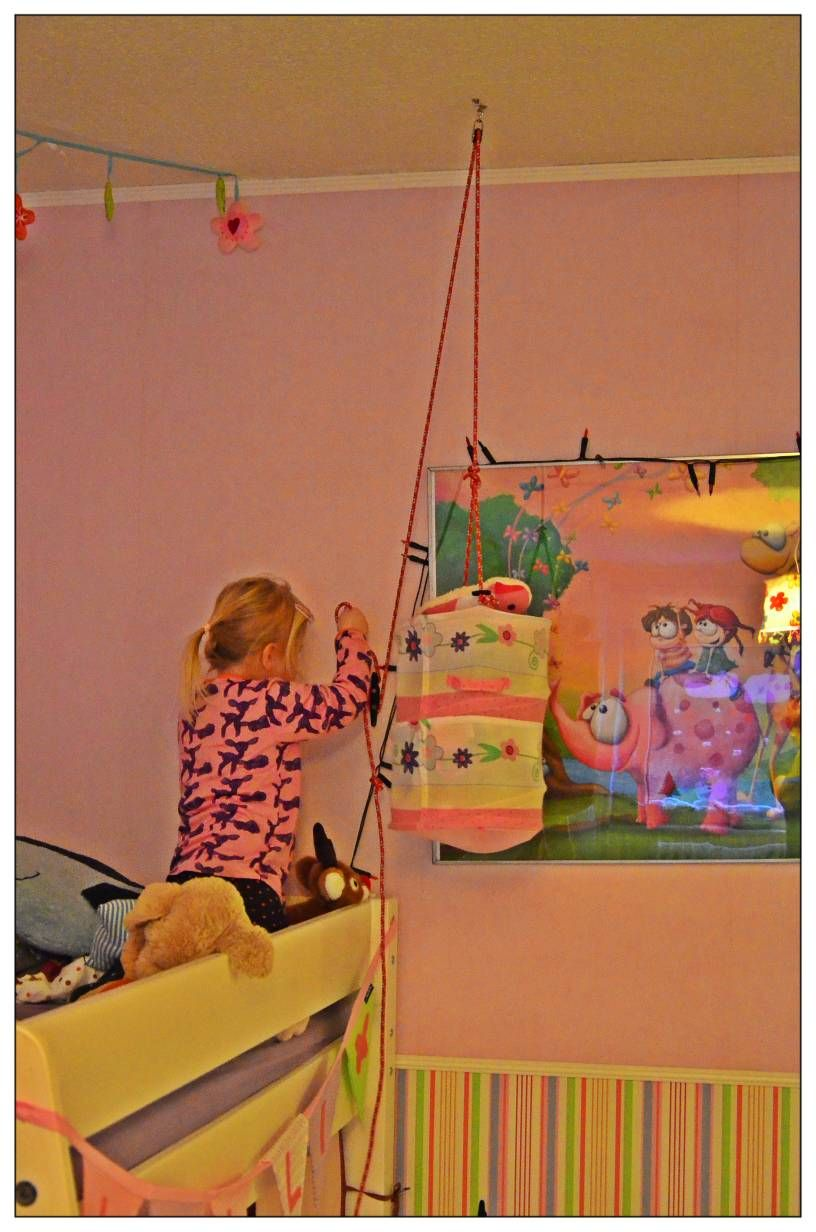 A Toy-lift For The Bunk Bed