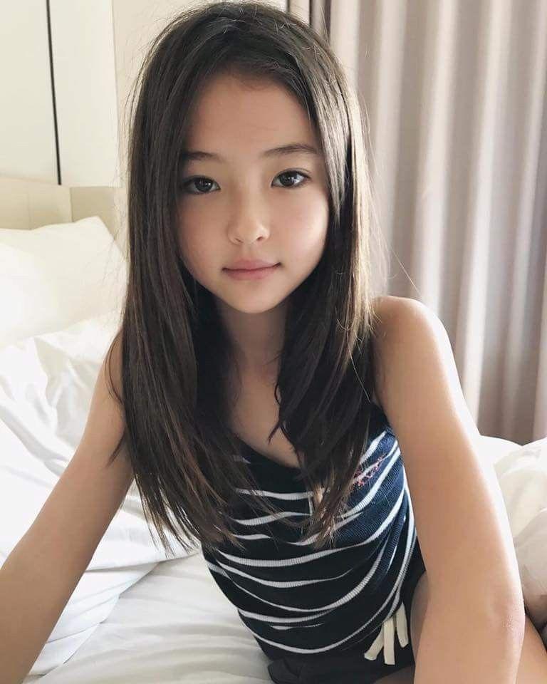 Asian cute model