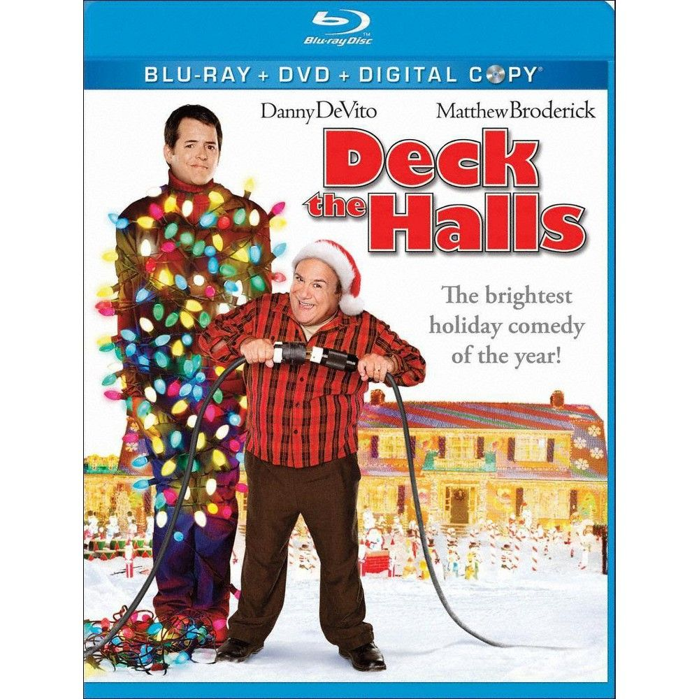 Deck The Halls Best Christmas Movies Funny Christmas Movies
