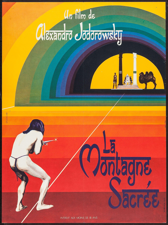 The Holy Mountain (Alejandro Jodorowsky, 1973) French design   Film