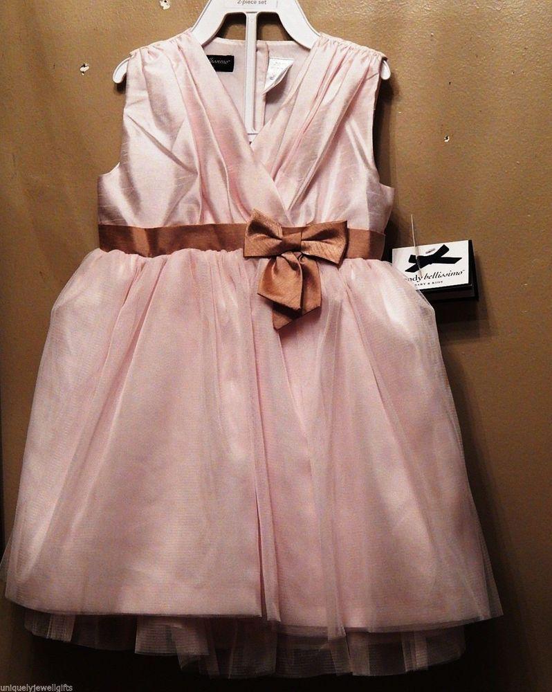 Pale Pink Childs Dress 24 Months Organza & Satin Easter Dress 2 ...