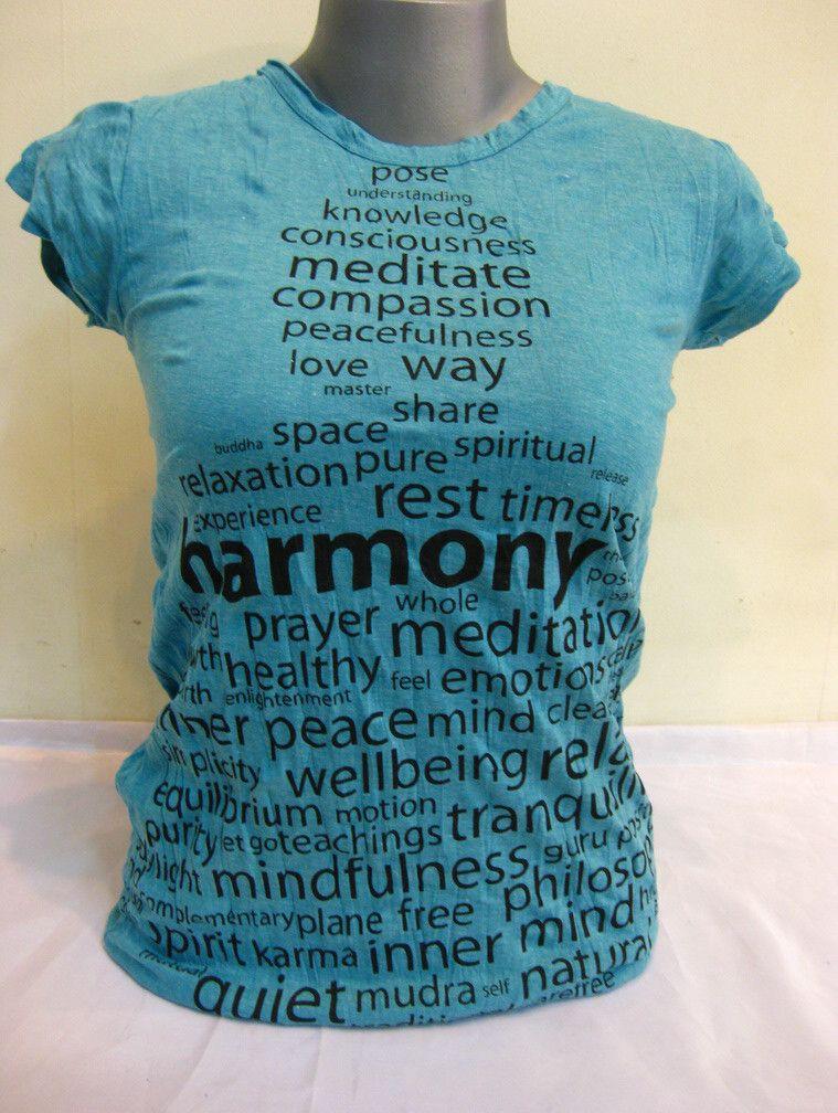Das T-Shirt Harmony für Frauen von Sure Design aus Thailand