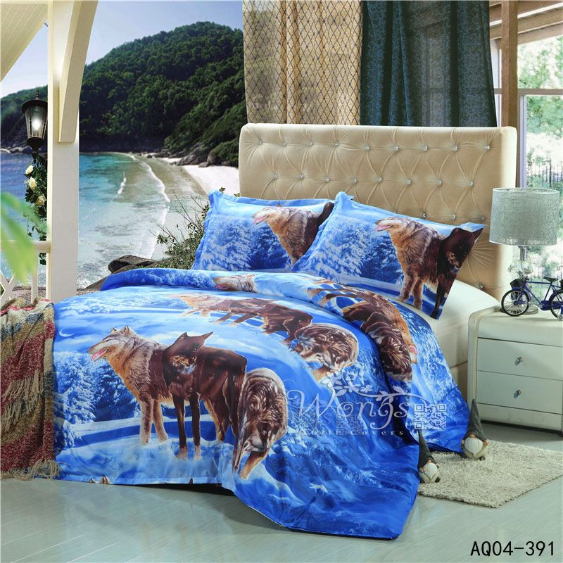 boy bedding sets twin renovation basketball hot 3d wolf animal bedding set king queen twin size 3pcs duvet cover pillow cases boys bedclothes