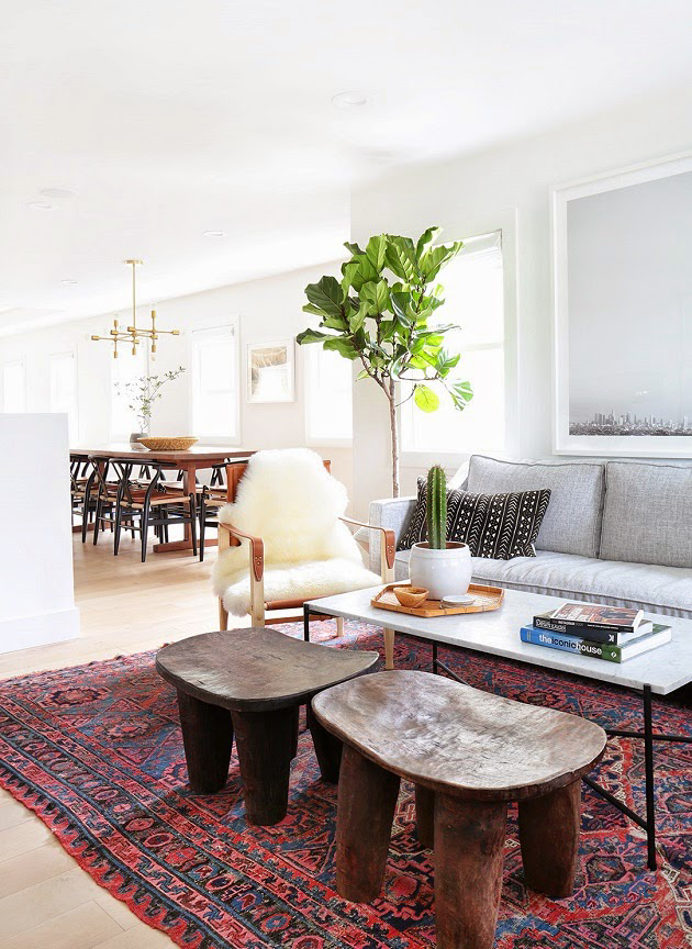 Home Tour A Fresh Modern Eclectic California Home Living Furniture White Furniture Living Room Living Room Furniture