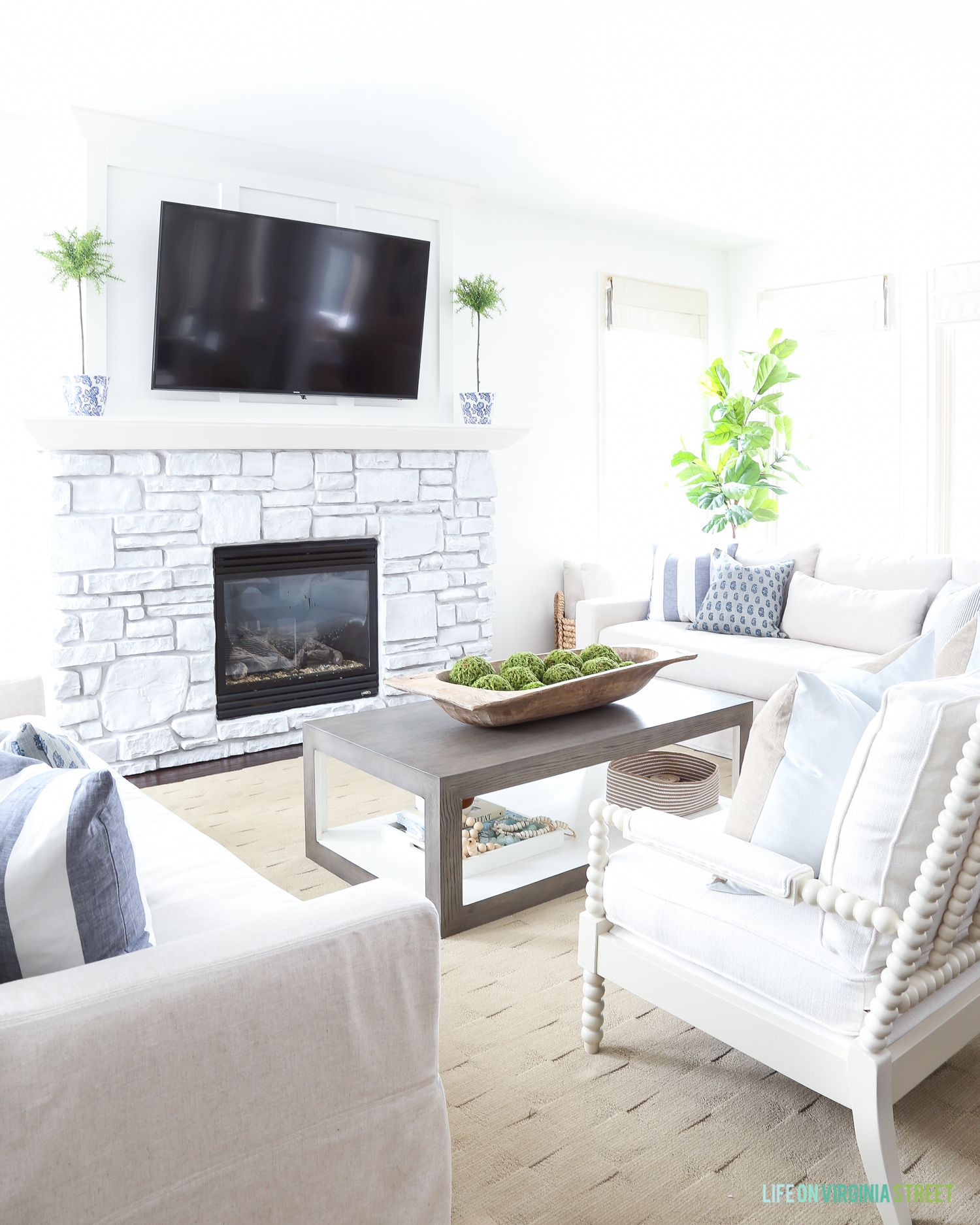 5 Simple Ways To Decorate For Spring   Life On Virginia Street