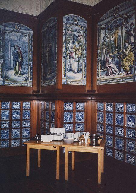Victoria & Albert museum, tea room   Victoria & Albert Museum - Poynter Room / Dutch Kitchen / Grill Room ...