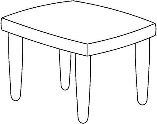 Table Para Colorear Imagui House Colouring Pages Furniture Decor Home Decor