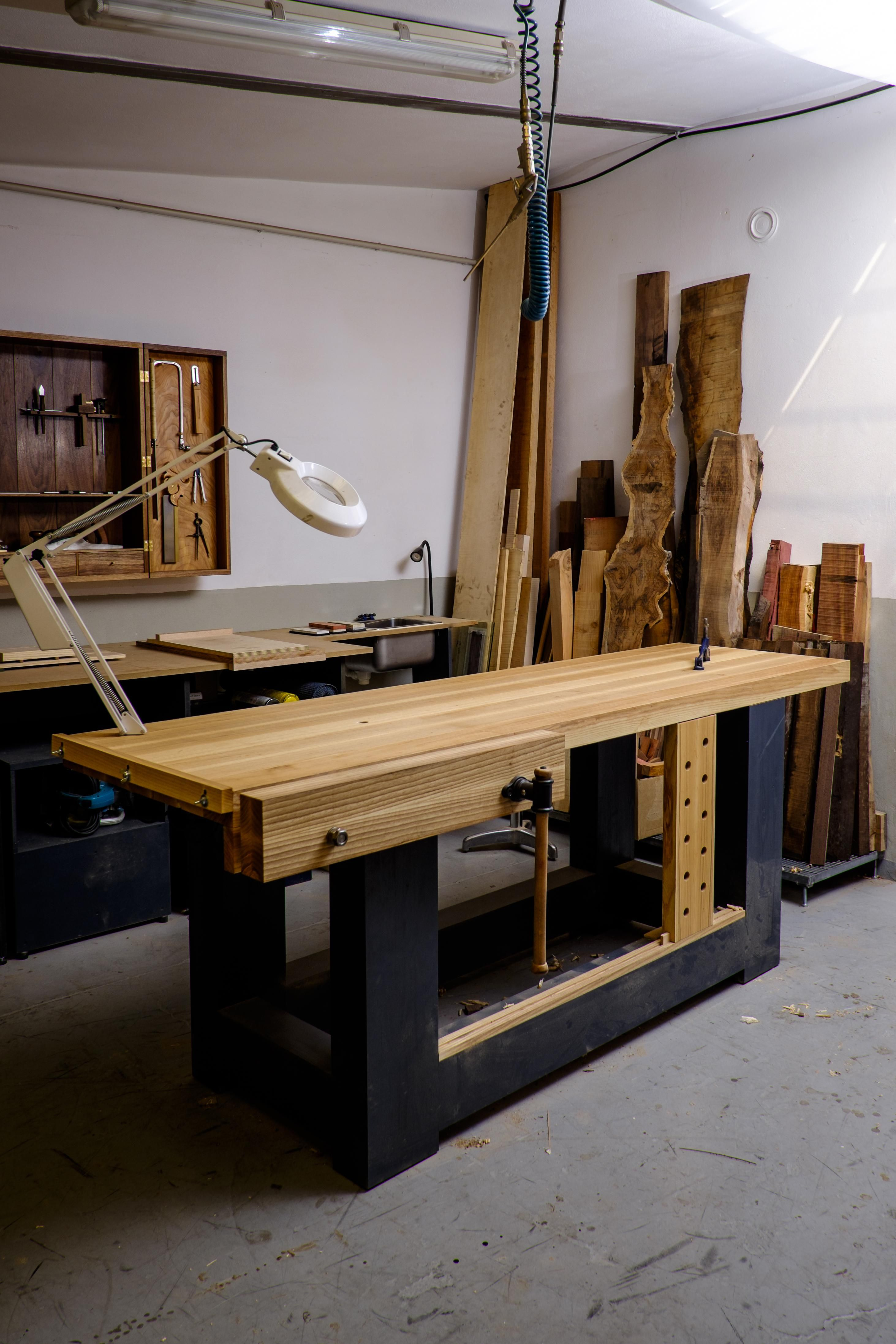 I actually can't imagine woodworking without a proper