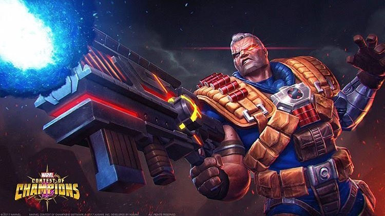 This Cable Wallpaper From Marvels Contest Of Champions Nuff Said