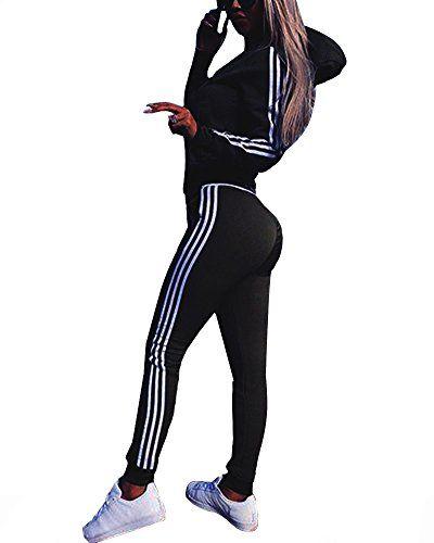 Combinaison sportive zip manches longues fitness moulante femme vetements noir