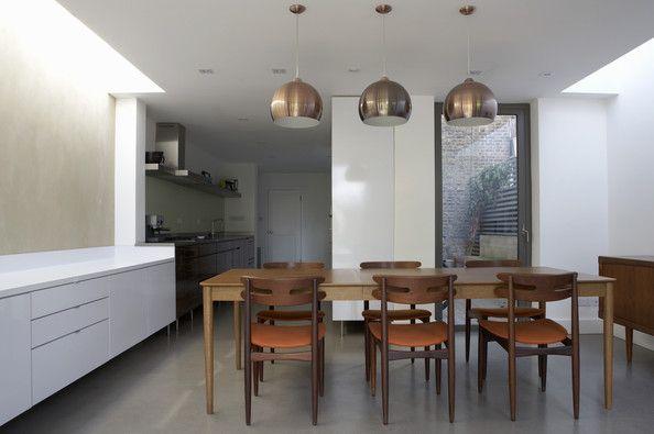 La salle à manger parfaite La salle, Lampe cuivre et Parfait