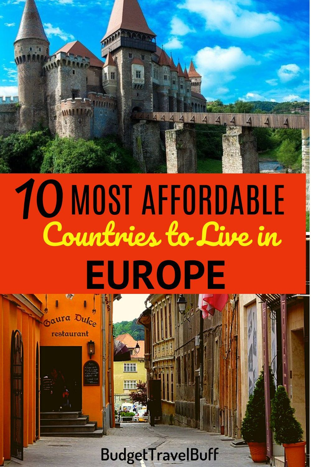 10 Most Affordable Countries To Live In Europe Budgettravelbuff In 2020 Living In Europe Europe Trip Itinerary Europe Travel
