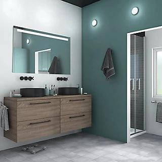 Espejo De Bano Con Luz Remix 75 X 70 Cm Leroy Merlin Miroir Lumineux Miroir Lumineux Salle De Bains Miroir Toilettes