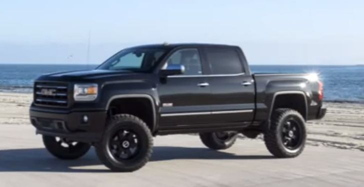 2014 Gmc Sierra 1500 Gets 6 Inch Lift Kit From Rancho With Images Gmc Trucks