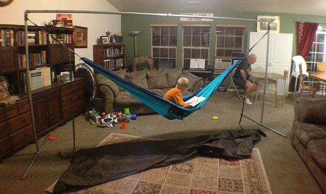 Portable Hammock Stands For Camping By Derek Hansen
