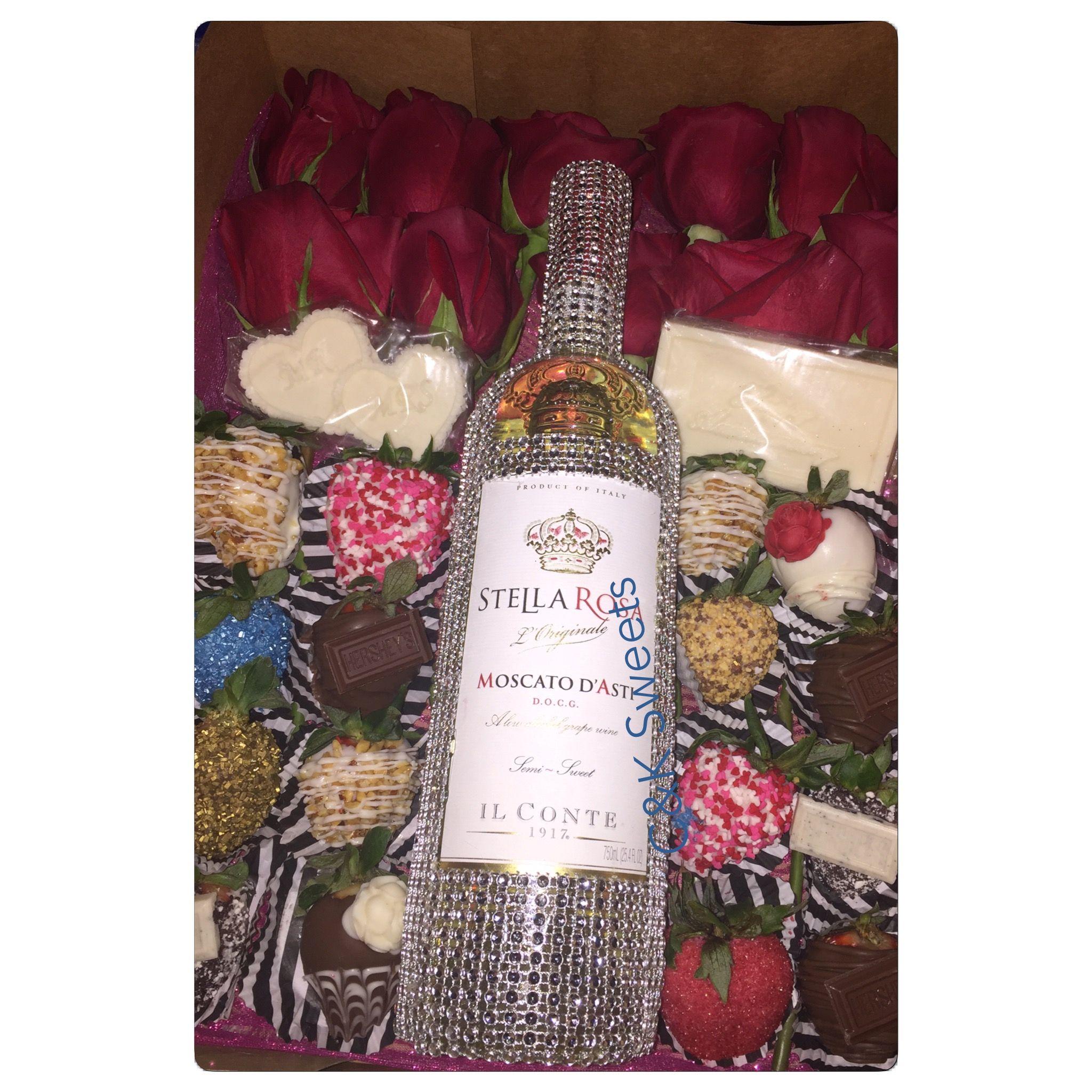 Chocolate Covered Strawberries Stella Wine Amp Live Rose
