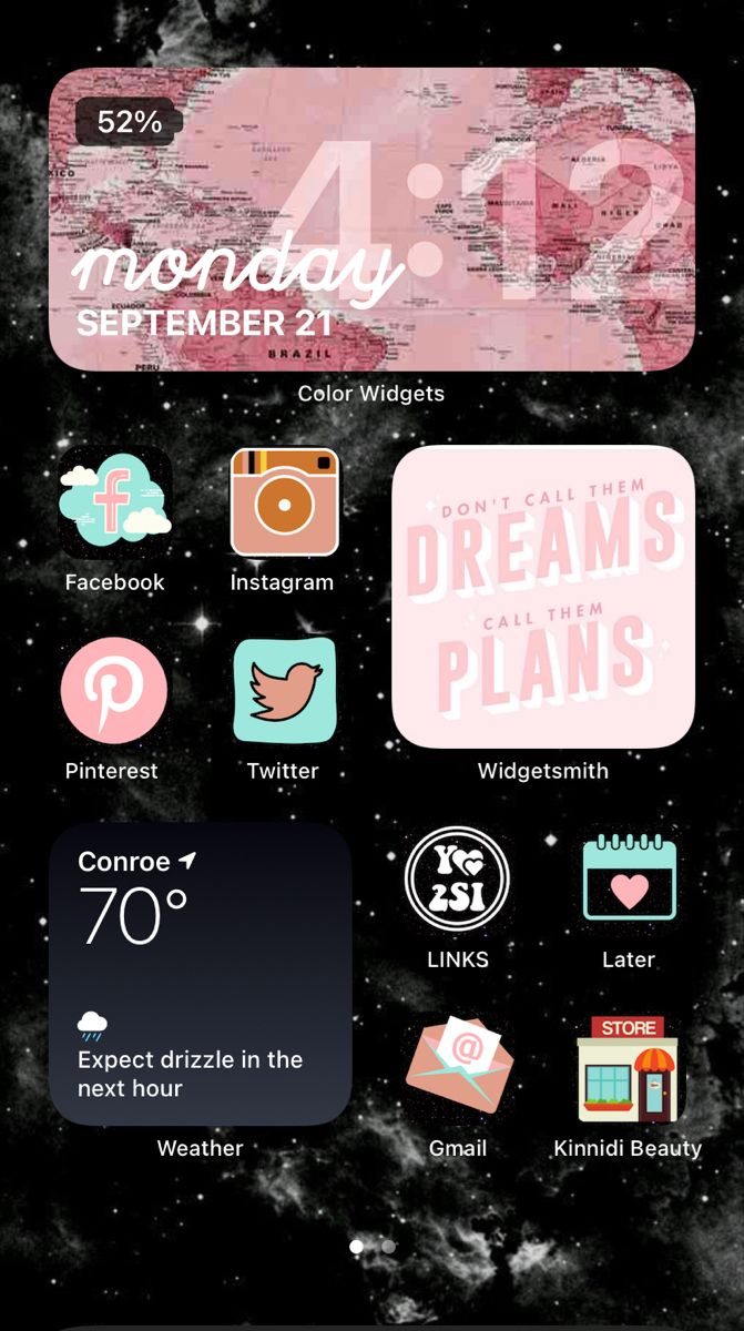 iOS 14 Homescreen Step by Step Guide in 2020 Iphone